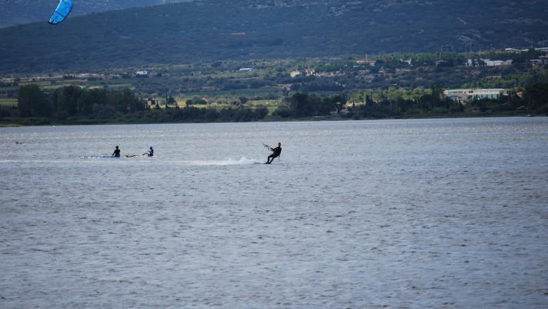 Surf report Etang de La Palme - France (11) 2012-01-07 12:30:00
