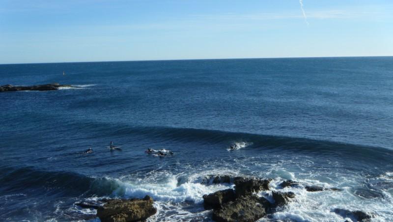 Surf report L'Arquet - France (13) 2012-01-22 15:00:00