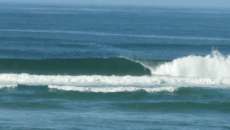Surf report Mimizan - Plage Garluche - France (40) 2012-01-24 13:00:00