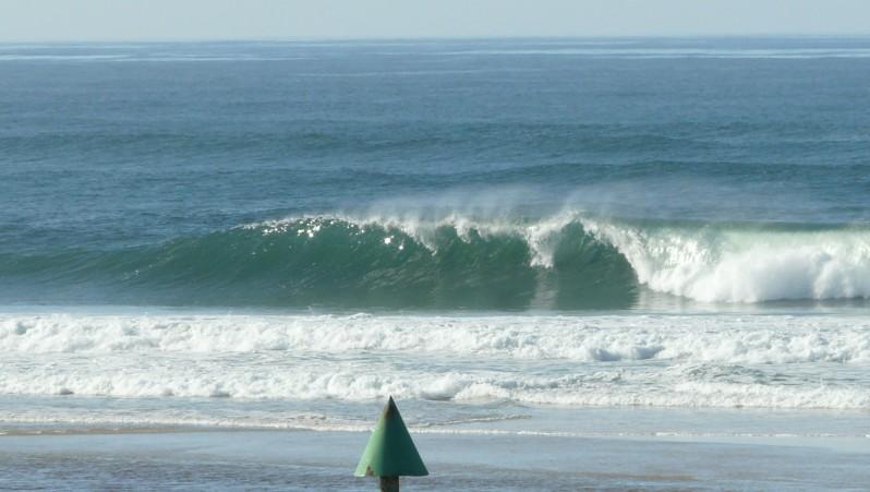 Surf report Mimizan - Plage Garluche - France (40) 2012-01-24 13:00:00