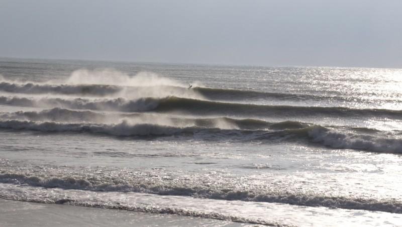 Surf report Les Grenettes - France (17) 2012-02-05 16:30:00