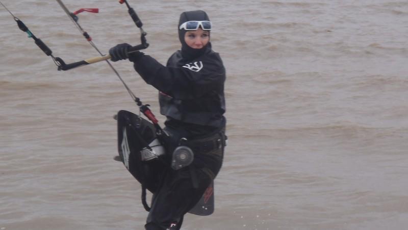 Surf report La Chambrette - France (33) 2012-02-14 14:00:00