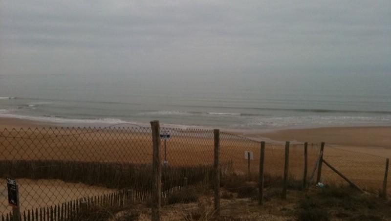 Surf report La Térrière - France (85) 2012-02-18 09:50:00