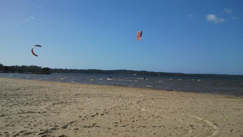 Surf report Navarrosse - France (40) 2012-02-19 12:00:00