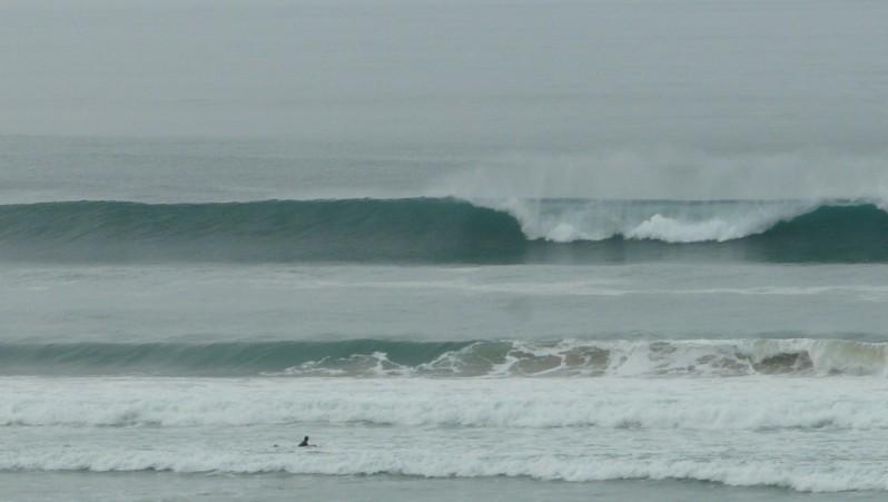 Surf report Biscarrosse Plage - France (40) 2012-02-24 13:00:00