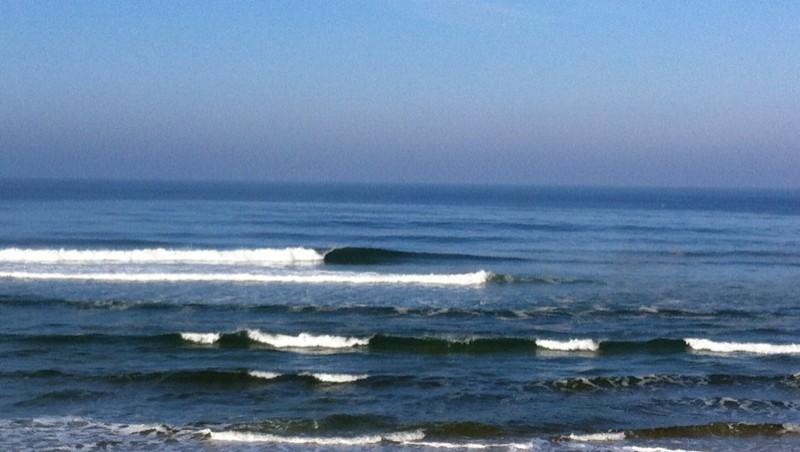 Surf report Mimizan - Plage Garluche - France (40) 2012-02-27 10:00:00