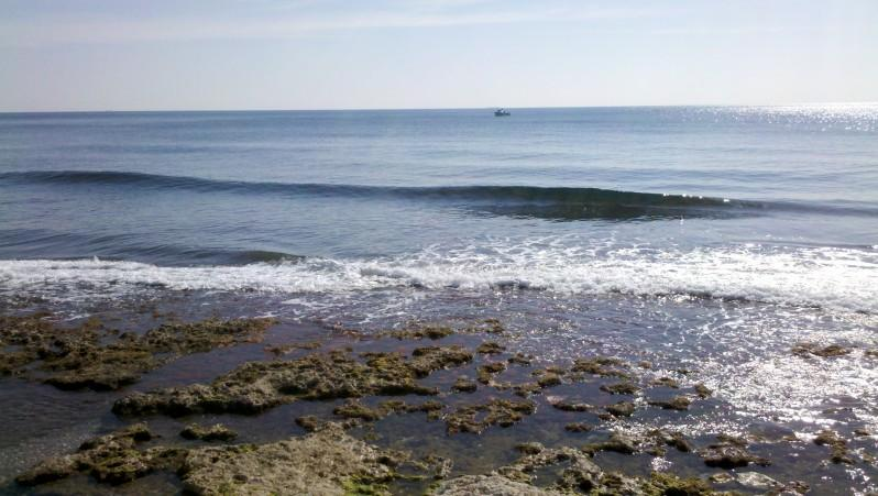 Surf report Sausset les Pins - Plage du Port - France (13) 2012-03-11 15:00:00