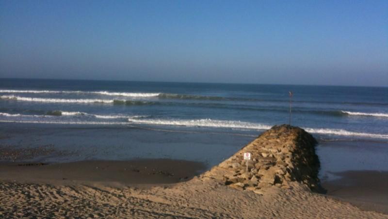 Surf report Montalivet - France (33) 2012-03-25 09:33:00