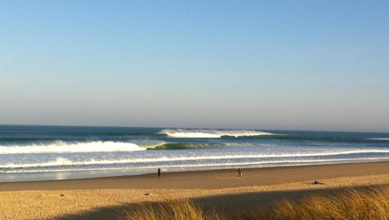 Surf report Le Grand Crohot - France (33) 2012-03-25 09:00:00