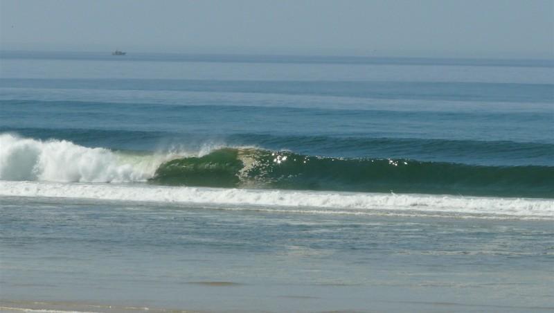 Surf report Mimizan - Plage Garluche - France (40) 2012-03-27 13:45:00
