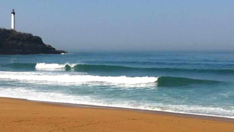 Surf report Anglet VVF - France (64) 2012-03-28 11:00:00