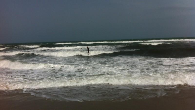 Surf report Saint-Cyprien - La Nord - France (66) 2012-04-28 16:03:00