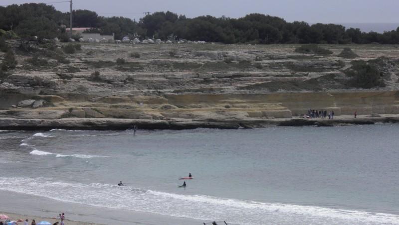 Surf report Plage du Verdon - France (13) 2012-05-06 13:45:00