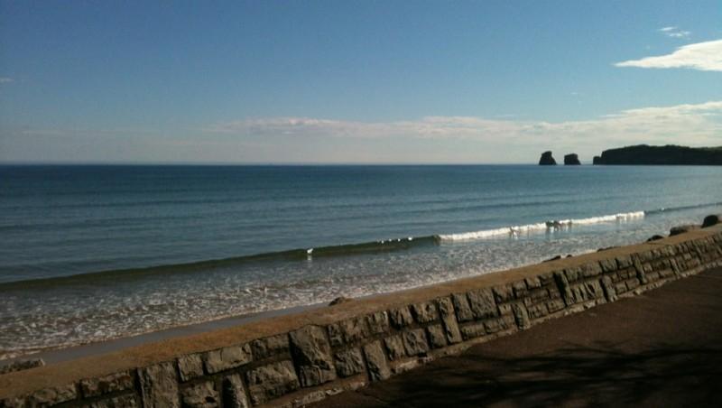 Surf report Hendaye - France (64) 2012-05-09 09:00:00