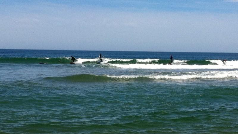 Surf report Anglet Corsaires - France (64) 2012-05-10 13:30:00