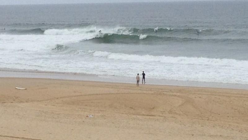 Surf report Seignosse - Les Bourdaines - France (40) 2012-05-18 13:00:00