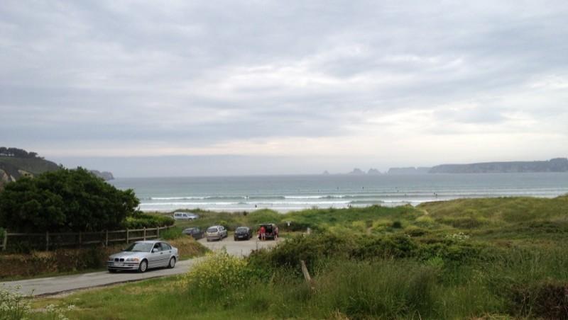Surf report  Kerloc'h - Plage de Goulien - France (29) 2012-06-02 17:20:00