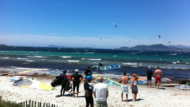 Surf report La Madrague - France (83) 2012-06-09 13:14:00