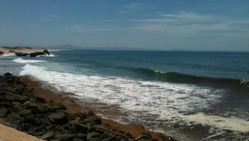 Surf report Capbreton - Le Santosha - France (40) 2012-06-14 16:00:00