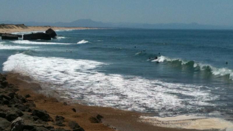 Surf report Capbreton - Le Santosha - France (40) 2012-06-14 16:00:00