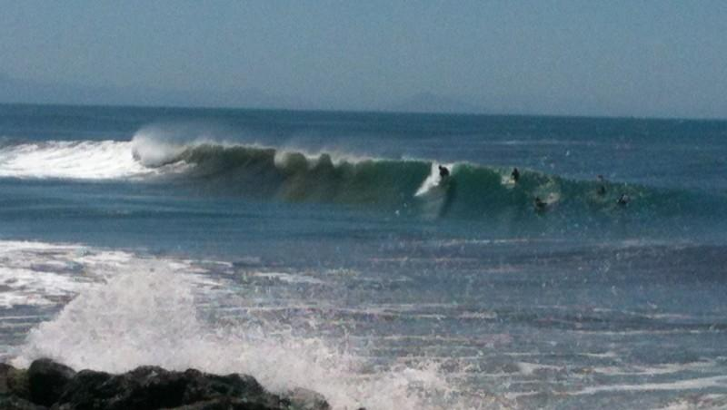 Surf report Capbreton - Le Santosha - France (40) 2012-06-15 15:00:00