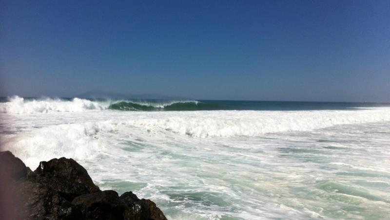 Surf report Anglet Corsaires - France (64) 2012-06-15 15:00:00