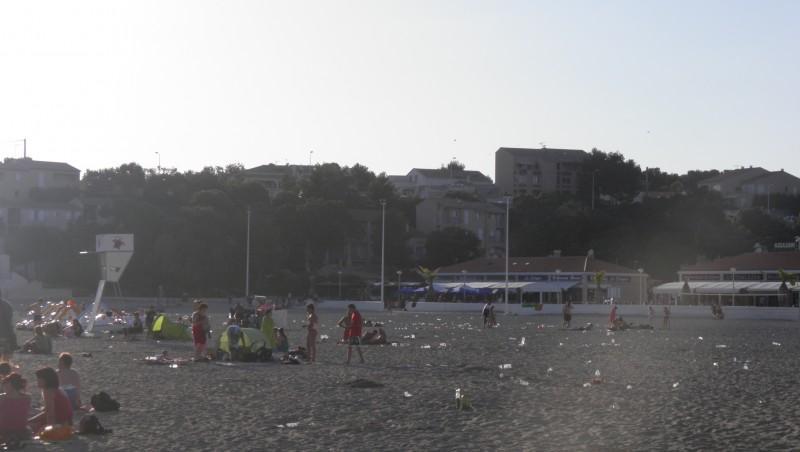 Surf report Plage du Verdon - France (13) 2012-06-17 19:00:00