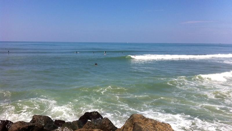 Surf report Anglet Corsaires - France (64) 2012-07-07 14:00:00