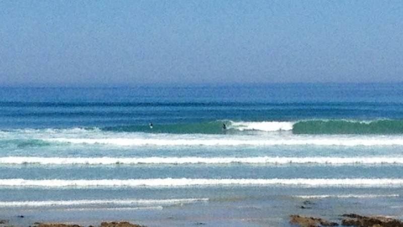 Surf report Penhors - France (29) 2012-07-24 12:00:00