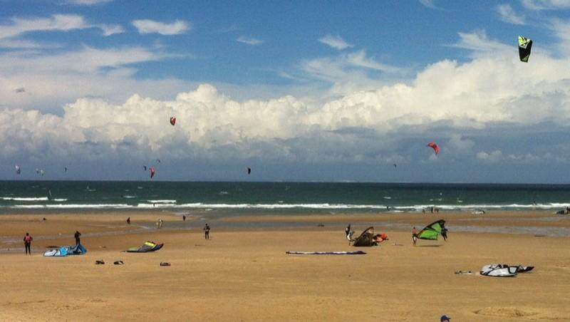 Surf report Wissant - France (62) 2012-07-29 13:20:00