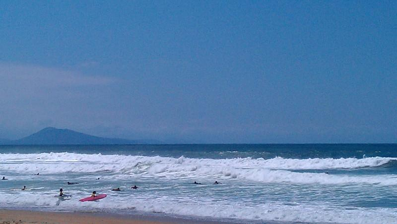 Surf report Anglet Corsaires - France (64) 2012-08-03 16:00:00