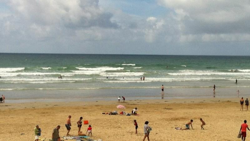Surf report Sainte Barbe - France (56) 2012-08-12 16:22:00