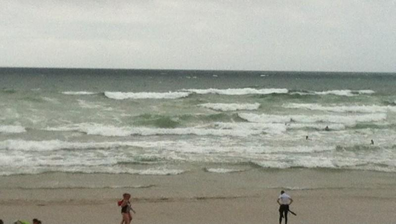 Surf report Sainte Barbe - France (56) 2012-08-13 15:45:00