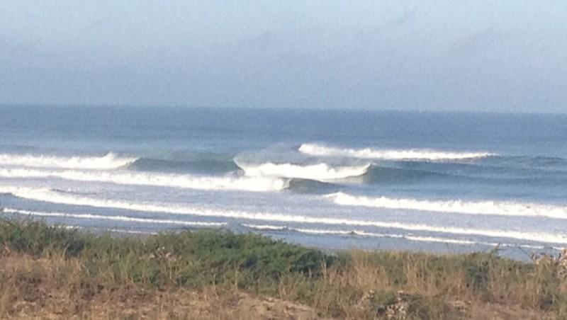 Surf report Hossegor - Les Culs Nus - France (40) 2012-08-16 15:00:00