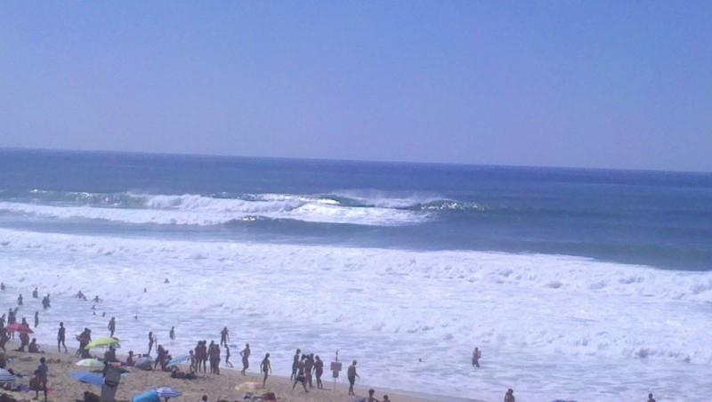 Surf report Soustons Plage - France (40) 2012-08-17 17:00:00