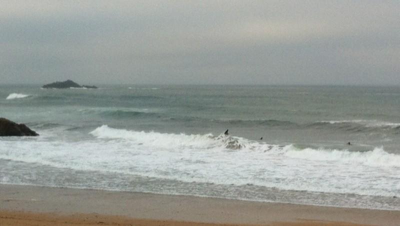 Surf report Port Blanc - France (22) 2012-08-18 08:30:00