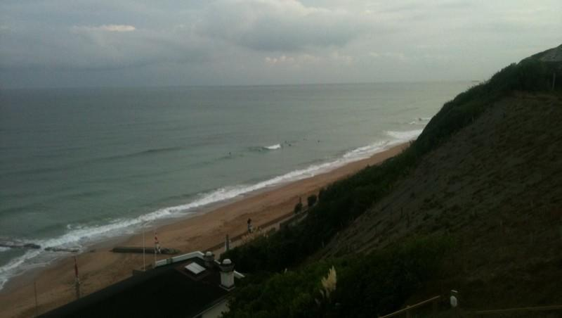 Surf report Bidart Centre - France (64) 2012-08-24 08:09:00
