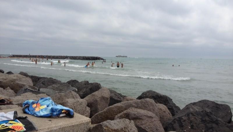 Surf report Cap-d'Agde - Plage Richelieu - France (34) 2012-08-24 14:00:00