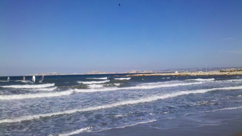 Surf report Le Prado - France (13) 2012-09-01 09:40:00