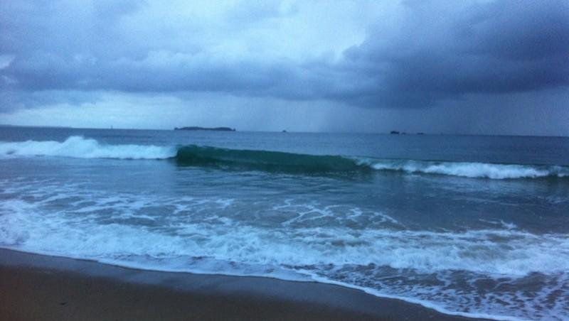 Surf report Saint-Malo - Le Sillon - France (35) 2012-10-14 08:00:00
