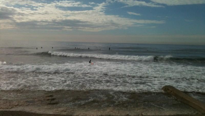 Surf report Sausset les Pins - Plage du Port - France (13) 2012-10-22 11:24:00
