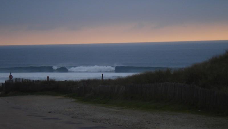 Surf report Pen-Had - France (29) 2012-10-22 18:25:00