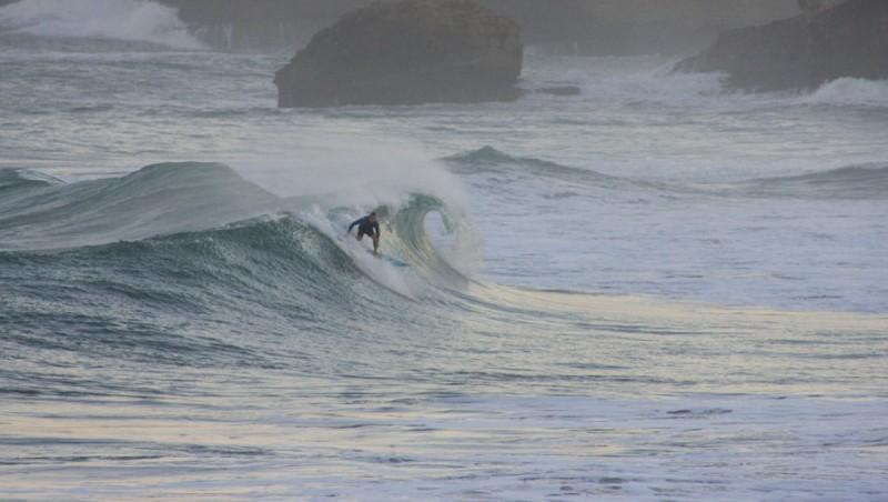 Surf report Biarritz - Grande Plage - France (64) 2012-10-23 08:30:00