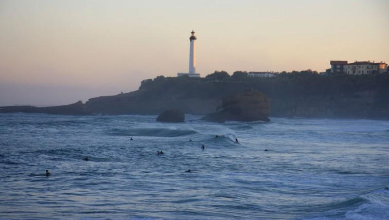 Surf report Biarritz - Grande Plage - France (64) 2012-10-23 08:30:00