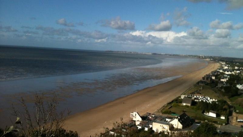 Surf report Carolles - France (50) 2012-11-02 14:49:00