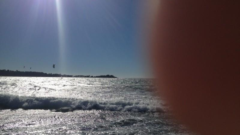 Surf report Cannes - Palm Beach - France (06) 2012-11-05 12:23:00