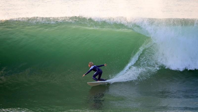Surf report La Piste - V.V.F - France (40) 2012-11-14 17:00:00