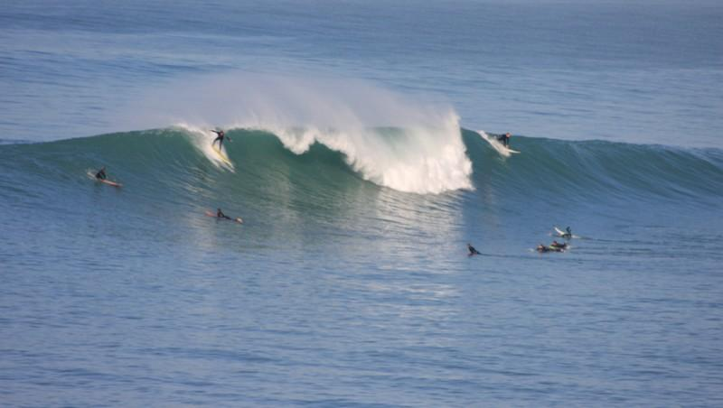Surf report Guethary Parlementia - France (64) 2012-11-15 12:30:00