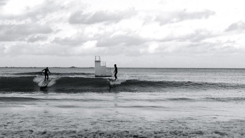 Surf report Les Godelins - France (22) 2012-11-17 15:00:00