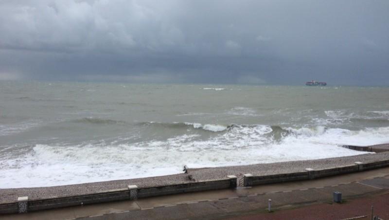 Surf report Le Havre - Les Régates - France (76) 2012-12-04 12:23:00